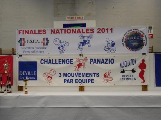Finales France FSFA Déville-Lès-Rouen - 26 et 27 mars 2011