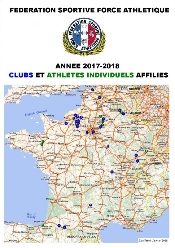 Carte clubs affilies fsfa 2017 2018 1