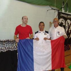 Championnat d'Europe WDFPF Brandon 14 septembre 2019